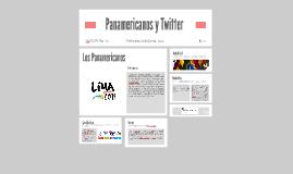 Panamericanos y Twitter