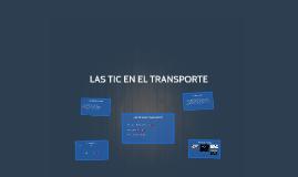 Las TIC En El Transporte