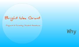Bright Idea Grant