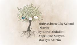 Mufreesboro City School District