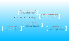 Copy of Main Idea