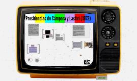 Piaget Presidencia de Cámpora y Lastiri