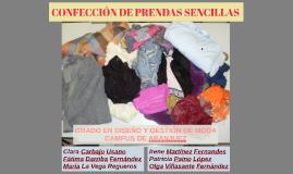 CONFECCIÓN DE PRENDAS SENCILLAS