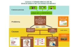 Causas y consecuencias de un envejecimiento no saludable en México
