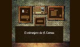 Copy of El extranjero de Albert Camus
