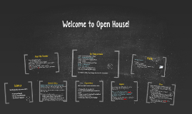 Copy of Welcome to Open House!