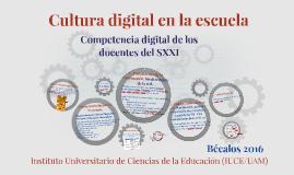 Cultura digital en la escuela del SXXI
