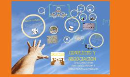 Exposición comportamiento organizacional, Conflicto y negociación.