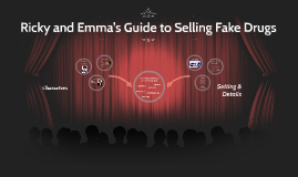 Ricky and Emma's Guide to Selling Fake Drugs