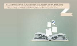 Tema 16: LA EDUCACIÓN LITERARIA EN EL CONTEXTO ESCOLAR. MANI