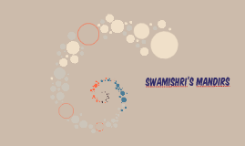Swamishri's Mandirs