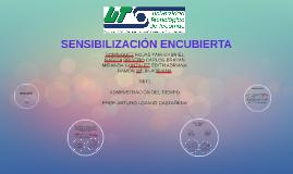 SENSIBILIZACIÓN ENCUBIERTA