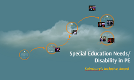 Special Education Needs/Disability in PE