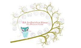 RA In-Service Ideas