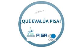 Elaboración de reactivos tipo PISA