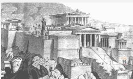 How the city of Athens got its name.