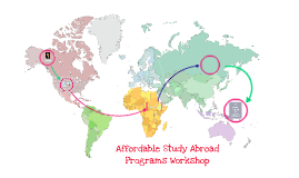 Affordable Study Abroad Programs Workshop