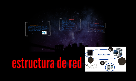 estructura de red