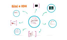 Copy of GINI e IDH