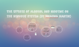 The Effects of Alcohol and Nicotine on the Nervous System