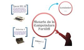 Historia de las Computadoras Portátiles