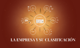 LA EMPRESA Y SU CLASIFICACIÓN