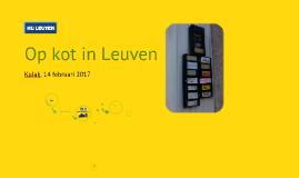 Op kot in Leuven (Kortrijk, 2017)