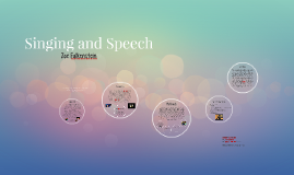 My 20% Project: Singing and Speech