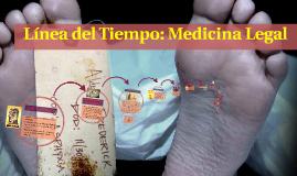 Copy of Línea del Tiempo: Medicina Legal