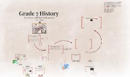 Copy of Grade 7 History