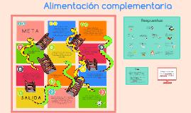 Copy of Alimentación complementaria