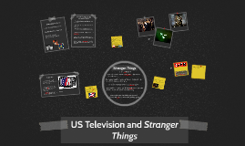 US Television and Stranger Things
