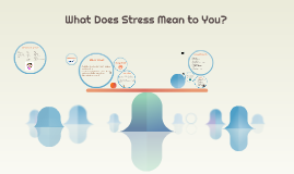 What Does Stress Mean to You?