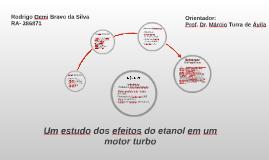 Um estudo dos efeitos dos combustíveis a álcool em um motor