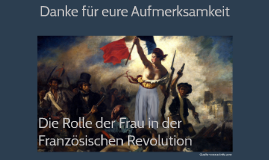 Die Rolle der Frau in der Französischen Revolution