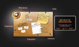 Copy of Copy of METODOS DE INVESTIGACION