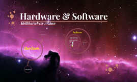Copy of Software & Hardware