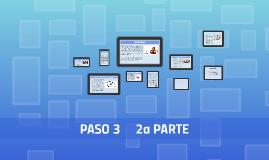 PASO 3     2a PARTE
