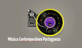 Música Comtemporânea Portuguesa