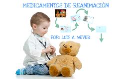 Medicamentos de Reanimacion