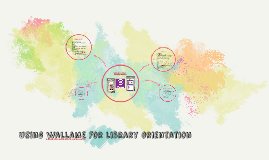 Using wallame for library orientation