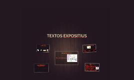 TEXTOS EXPOSITIUS