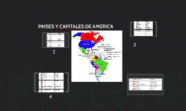 Copy of PAISES Y CAPITALES DE AMERICA