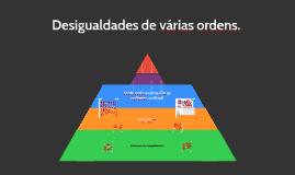 Desigualdades de várias ordens.