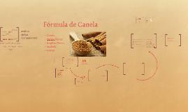 Fórmula de Canela