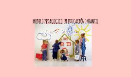 Copy of MODELO PEDAGOGICO EN EDUCACIÓN INFANTIL