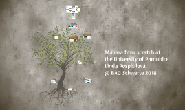 Mahara from scratch at the University of Pardubice (BAG Schwerte 2018)