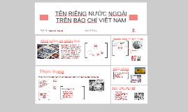 Copy of Ngôn ngữ báo chí