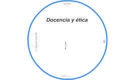 Docencia y etica