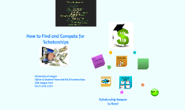 How to Find & Compete for Scholarships